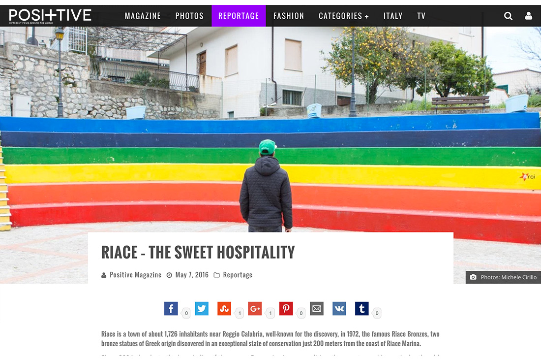 Riace, the sweet hospitality - Michele Cirillo